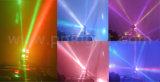 一義的な二重軸線8*10W RGBW 4in1移動ヘッドLEDビームライト