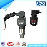 transmetteur de pression de l'acier inoxydable 4-20mA avec le détecteur rempli d'huile de pression