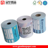 Papier thermosensible multicolore de vente chaude de MSDS