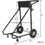 115 cavalo-força Outboard Motor Cart Engine Stand com Folding Handle