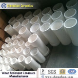 Química ya la abrasión Resistente revestimientos de tuberías y el tubo de cerámica Proveedores