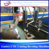 Máquina de estaca de chanfradura do CNC do pórtico pesado