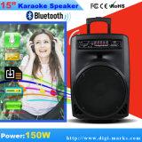 Altavoz audio sin hilos de Bluetooth de la lámpara con la luz de la lámpara del LED