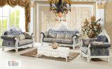 Nuovo sofà reale classico del tessuto di stile per la mobilia del salone (162-1)