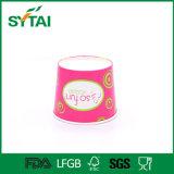 Gelado de bacia de papel do Yogurt que empacota os copos de papel de Gelato