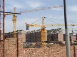 4t Construction Tower Crane avec 42m Boom 0.8 Ton Inclinent-Load