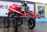 Pulverizador do crescimento do trator da mão do TGV do tipo 4WD de Aidi para o campo de almofada e a terra de exploração agrícola