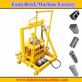 Petite machine mobile du bloc Qmr2-40 pour la brique creuse, brique pleine