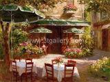 Oil Painting - Garden 2