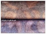 Paño decorativo hecho punto del terciopelo de la piel de Fox del Faux