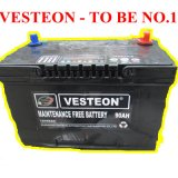 batteries de la voiture 12V automobiles d'acide de plomb N90