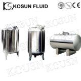 бак для хранения горячей воды давления нержавеющей стали качества еды 3000L -10000L жидкостный
