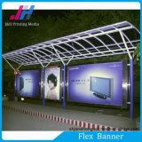 Печатание цифров или высокое лоснистое освещенное контржурным светом знамя гибкого трубопровода PVC