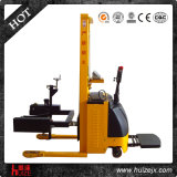Tilting eléctrico Oil Drum Truck Stacker con Weighing Scale