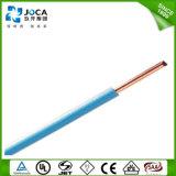 Moistureproof, prova do molde, fio elétrico amigável de Environmenal UL1015 8AWG 600V