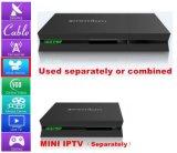 Сердечник полное HD DVB-S2+DVB-T2+DVB-C+ISDB квада IPTV Android