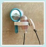 Accesorios del cuarto de baño del estante de la caída del montaje de la pared del sostenedor del secador del soplo del pelo