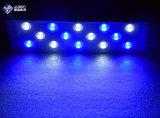 Precio barato 28W 30cm LED acuario azul claro y blanco emiten color para los tanques de peces Nano Coral Reef