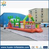 使用される大人または子供のための熱い販売水公園巨大で膨脹可能な水障害スライド