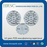 Placa de alumínio do PWB do circuito impresso do PWB do diodo emissor de luz sobre 15 anos de produção do PWB
