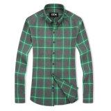 OEM het Katoenen van de Controle van Mensen Formele Overhemd Van uitstekende kwaliteit van de Knoop