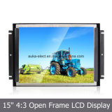 "Monitor do frame aberto do LCD 15 da tela de toque "" para o controle industrial"