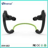 Wireless estereofónico Waterproof Bluetooth Sport Headphone com Microphone