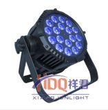 A PARIDADE do diodo emissor de luz pode iluminar-se com o 18*18W 6in1 15W 5in1 impermeável
