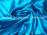Tela de seda do cetim do algodão