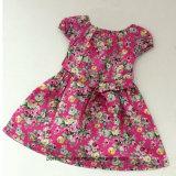 Floral Children Wear高品質の女の子の花の服の王女