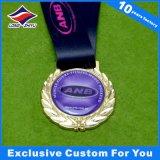 円形の金属メダルエポキシが付いているカスタム賞メダルスポーツの挑戦メダル
