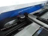 Máquina de estaca impressa matéria têxtil do laser da tela do Sublimation
