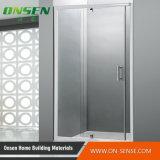Cerco de alumínio personalizado do chuveiro de Frameless para o banheiro