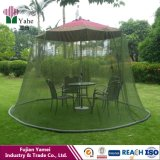 Redes de mosquito ao ar livre do guarda-chuva do pátio