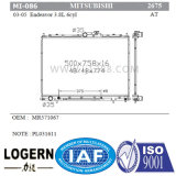 Radiatore di alluminio dei ricambi auto Mi-086 per Mitsubishi Endeavor'04-11 at/Dpi: 2675