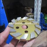 구체적인 지면 닦는 분쇄기를 위한 CD-51 다이아몬드 금속 가는 격판덮개