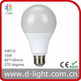 전구 LED A80 15W Dimmable 175V 265V