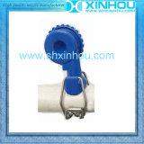 Ugello di spruzzo registrabile di plastica di smantellamento rapido della clip