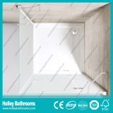 Pivot Door Ground Glass Single Door Vendendo Simple Shower Room (SE709M)
