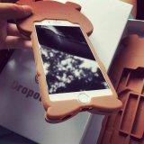 Neuer netter Bären-Silikon-Kasten des Austritts-3D für iPhone6