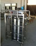 Trocador de calor em placas de aço inoxidável sanitário