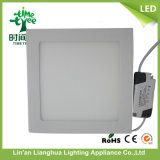 CE RoHS Approved 15W 18W 20W Square DEL Panel Light