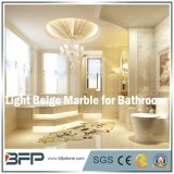 Elegante Beige Natuurlijke Steen/Marmeren Tegel voor het Omringen van de Badkamers