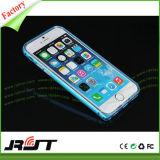 Accessori 2 del telefono mobile in 1 caso di alluminio del coperchio posteriore del respingente TPU per il iPhone 6