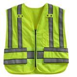 Het Vest van de Verkeersveiligheid, Klitband op de Taille, ontmoet En