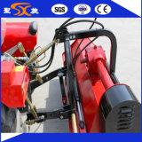 Máquina de derrota rotatoria del campo de arroz con el sistema hydráulico