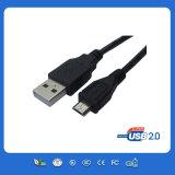 USB nero di Micro per Mobile Charge