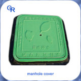 Couvertures composées d'inspection de trou d'homme de la fibre de verre En124 de courroie verte