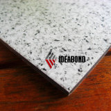 Ideabond Frは耐火性にするアルミニウム合成のパネル(石造りの一見シリーズ)を