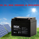 Mca-Batterieleistung-Batterie-Solarbatterie mit einer 5 Jahr-Garantie 12V 2V 6V